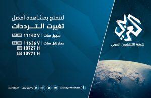 1 2 300x194 - تردد قناة العربي الجديد على النايل سات 2018