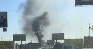 2019031411030636 310x165 - السيطرة على حريق هائل بجوار مصنع أخشاب بمدينة السادات فى المنوفية