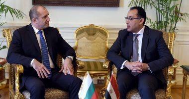201903260543214321 - رئيس الوزراء يبحث مع رئيس جمهورية بلغاريا سبل تعزيز العلاقات الثنائية