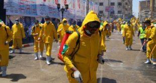 202004020333523352 310x165 - صحة أسوان: عمليات تعقيم وتطهير للشوارع لمواجهة كورونا
