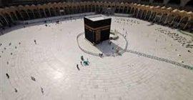 227 7 - فيديو مؤثر.. سيدة سعودية تدعو لرفع الوباء وعودة الحياة إلى الكعبة