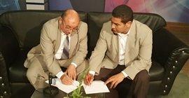 """306 6 - """"صوت الشعب"""" يوقع بروتوكولا مع التضامن لـ رفع المعاناة عن متضرري كورونا"""