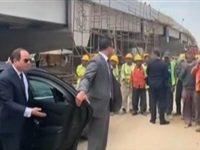 359 7 - شاهد .. لحظة انفعال الرئيس السيسي لعدم ارتداء العمال الكمامات بأحد المشروعات