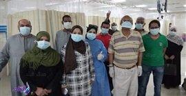 483 5 - انتصار جديد .. شفاء وخروج 14 حالة من مستشفى إسنا للحجر الصحي