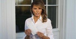 568 7 - مثل التباعد الاجتماعي.. ميلانيا ترامب تشجع الأمريكيين على ارتداء الكمامات.. فيديو