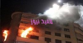 811 4 - الحماية المدنية تسيطر على حريق شقة بالعمرانية